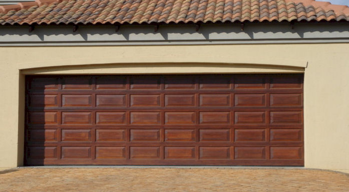 Double-Wooden-Garage-Door